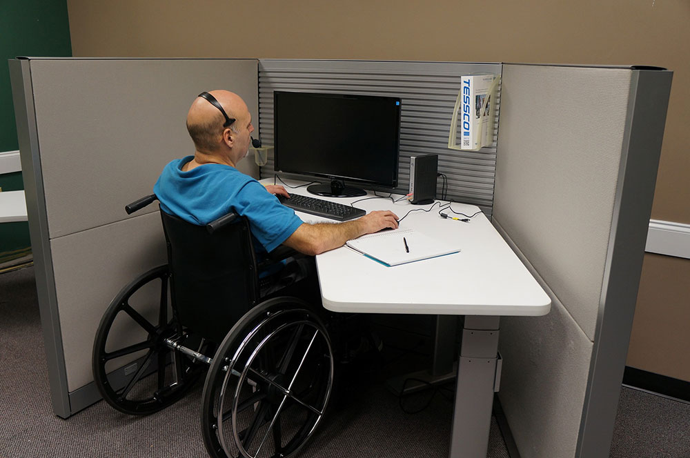 Disabled-Friendly Workspace